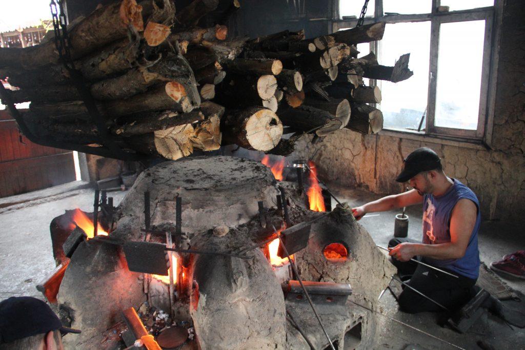 Boncuk ocağı ve kızılçam odunları,Kemalpaşa