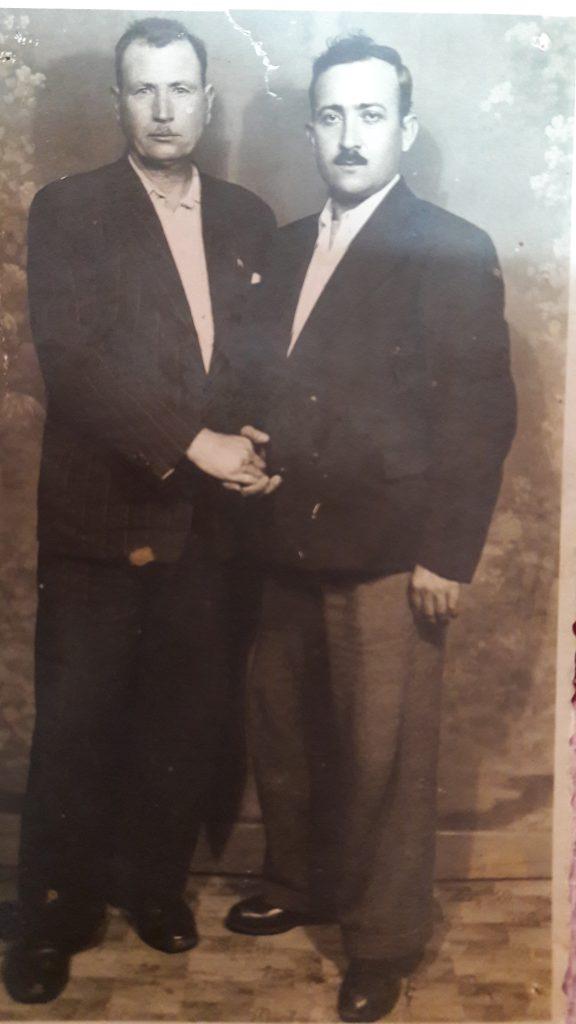 sağdaki Abdülazim oğlu Arap Selim (Özboncuk)